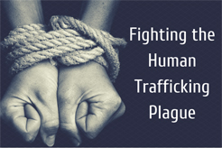 Human Trafficking Prevention Month title=