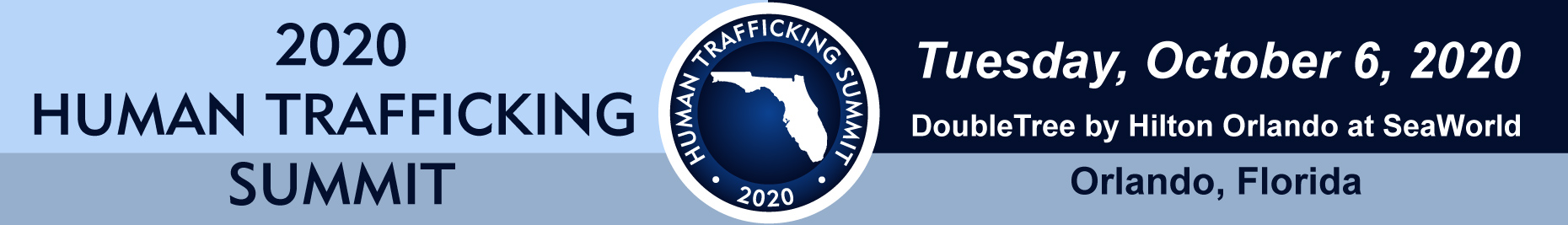 Human Trafficking Summit Banner