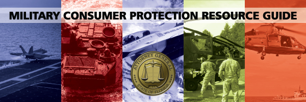 Military Consumer Protection Resource Guide
